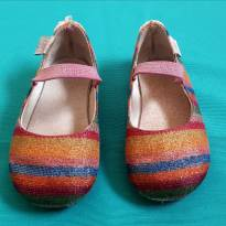 Sapatilha colorida com brilho - BABO UABU - BB Básico - tamanho 19/20 - 19 - Babo Uabu e BB Básico