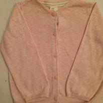 Casaquinho tricot - H&M - 9 a 12 meses - H&M e LOGG da H&M