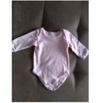 Body manguinha comprida - 0 a 3 meses - Bicho Molhado