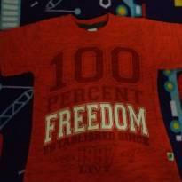 Camiseta - 4 anos - Livy