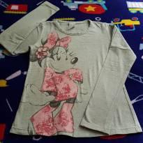 Blusinha manga longa Minie - 10 anos - Cativa