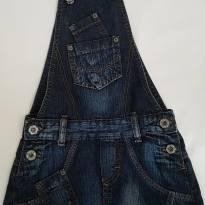 Jardineira jeans - 8 anos - biliton