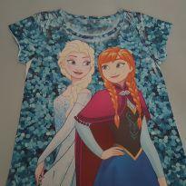 Blusinha Frozen Azul - 10 anos - pernambucanas