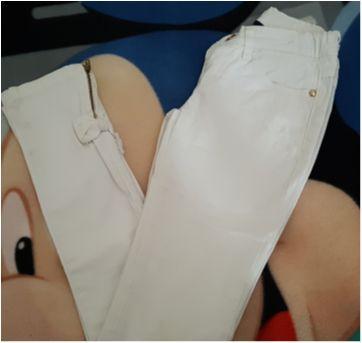 Calça branca - 10 anos - Palomino