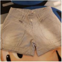 Shorts listrado - 8 anos - Fort Fashion