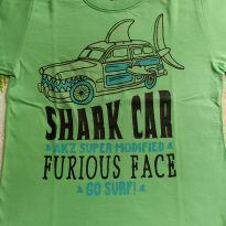 Camiseta verde - 4 anos - Alakazoo!