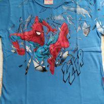 Camiseta Homem-Aranha - 4 anos - Brandili