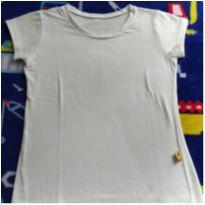 Blusinha branca - 10 anos - Mineral Kids