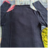 Blusinha azul manga longa - 10 anos - Malwee