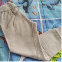 Calça moletom cinza - 4 anos - Mineral Kids