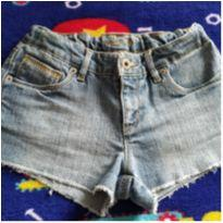 Shorts jeans - 10 anos - Levi`s