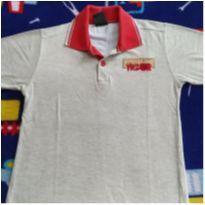 Camiseta gola polo - 4 anos - Tigor T.  Tigre