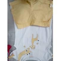 Conjunto infantil girafa - 18 meses - Gymboree