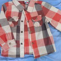 Camisa Xadrez - 0 a 3 meses - Tip Top