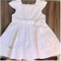 Vestido branco Camú Camú lindo! - 1 ano - Camú Camú