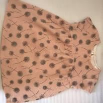 Vestidinho rosa estampadinho - 18 a 24 meses - Zara Baby