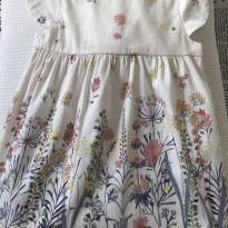 Vestido Zara estampa jardim - 24 a 36 meses - Zara Baby