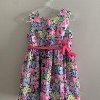 Vestido florido Carter's - 1 ano - Carter`s