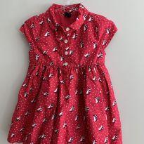 Vestido barquinho Gap - 12 a 18 meses - Baby Gap