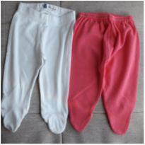 Kit 2 calças com pezinhos - 0 a 3 meses - Baby Club