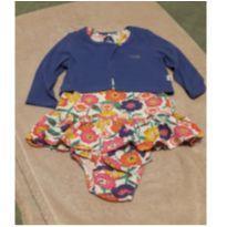 Vestido florido Puc - 6 a 9 meses - PUC