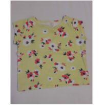 Camiseta florida Carter`s - 6 a 9 meses - Carter`s