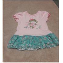 Kit vestido e body - 6 a 9 meses - Baby Starters