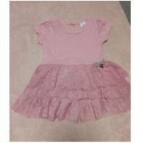 Vestido lilás tip top - 6 a 9 meses - Tip Top