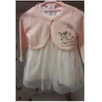 Vestido e bolero Disney Baby - 6 a 9 meses - Disney baby