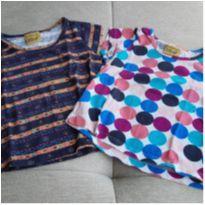 Kit 2 camisetas estampadas - 18 meses - Mineral Kids