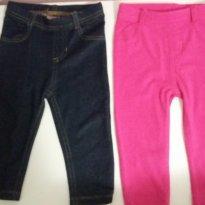 Kit 2 calças importadas Giranimals - 1 ano - Garanimals