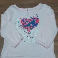 Camiseta Tommy Hilfiger - 9 a 12 meses - Tommy Hilfiger
