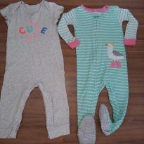 Kit macacões Carters 18 meses - 12 a 18 meses - Carter`s