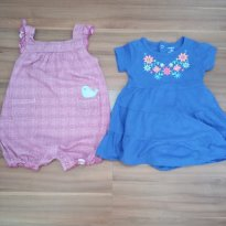 Kit macacões Carters 18 meses (rompers) - 12 a 18 meses - Carter`s