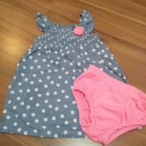 Vestido com Calcinha importado - 18 meses - Healthtex