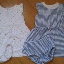 Kit 3 vestidos Carters - 2 anos - Carter`s