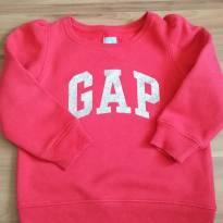 Blusa moletom GAP - 3 anos - GAP