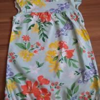 Macacão Floral Verão Carter`s - 2 anos - Carter`s