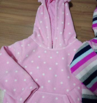 Kit 2 blusas Fleece GAP - 3 anos - Baby Gap