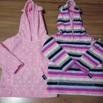 Kit 2 blusas Fleece GAP - 3 anos - Baby Gap