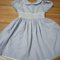 Vestido Azul rodado - 4 anos - Não informada
