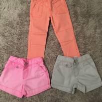 Kit 2 shorts + 1calça carter's - 24 a 36 meses - Carter`s