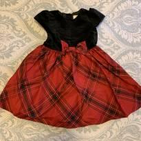 Lindo vestido de Natal - 24 a 36 meses - Gymboree