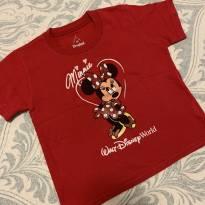 Camiseta Minie original - 2 anos - Disney