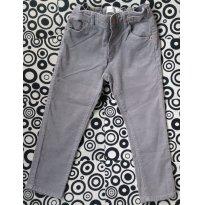 Calça de Veludo Cinza - Zara - 2 anos - Zara