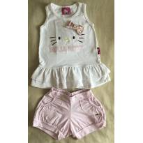 Conjunto Hello Kitty - 4 anos - Hello  Kitty