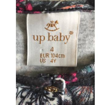 Macaquinho Estampa Floral - Up Baby - 4 anos - Up Baby