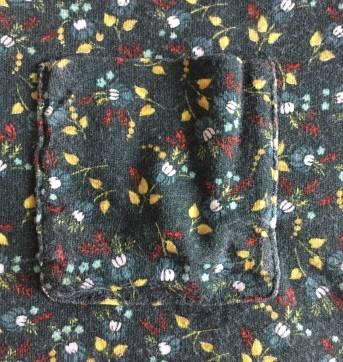 Blusa manga longa florida - Zara - 4 anos - Zara