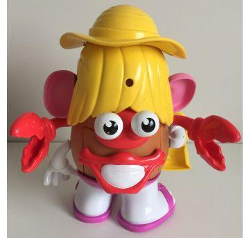 Mrs Potato Head / Sra Batata (Praia/Caranguejo) - Sem faixa etaria - Playskool