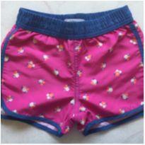 Shorts Florido - Póim - 3 anos - Póim